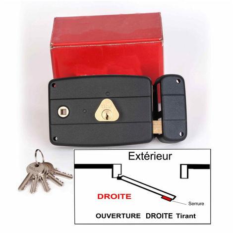 Serrure Monopoint KLOSE besser en Applique à Fouillot Horizontale 140x92mm - (Similaire JPM CISA....) 3 clés