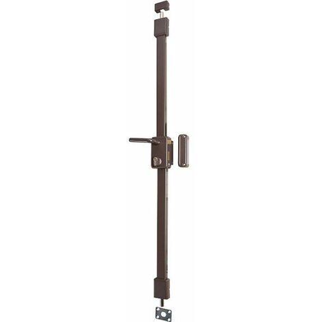 "main image of ""Serrure multipoint en applique marron à fouillot - Axe à 45 mm - Beluga CP A2P* - Thirard"""