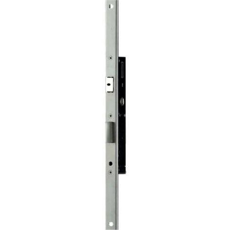 Serrure Performa 1 point axe 35 mm entraxe 92 mm têtière plate de 24 x 3 x 313 mm