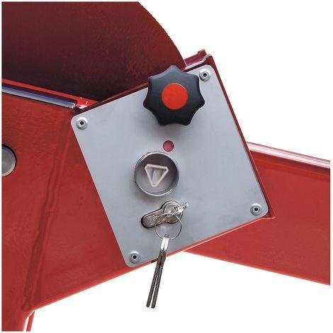 Serrure pour clé triangulaire - conforme à la norme DIN 3223 - pour barrière avec contrepoids, kit