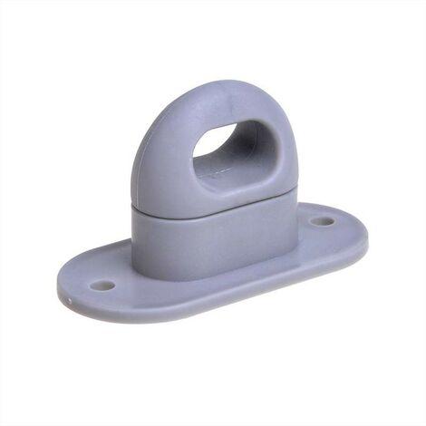 Serrure pour oeillets ovales plastique