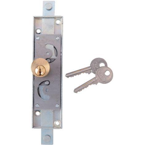 Serrure pour rideau métallique zingué en applique - Clé I - Série H282018 - Torbel industrie