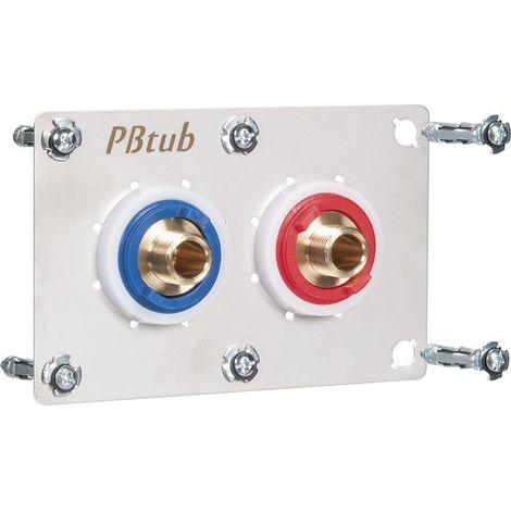 Sertifix double entraxe 55 mm - PB Tub