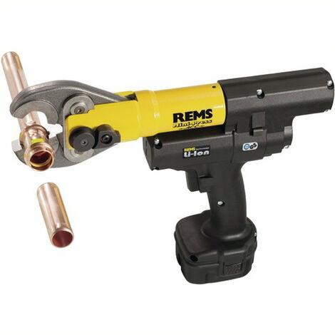 Sertisseuse à accu pour sertissage radial avec retour automatique REMS Mini-Press ACC