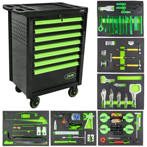 Servante à outils spécial carrossier - vert