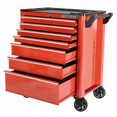 Servante atelier à roulettes acier 7 tiroirs - AUTOBEST