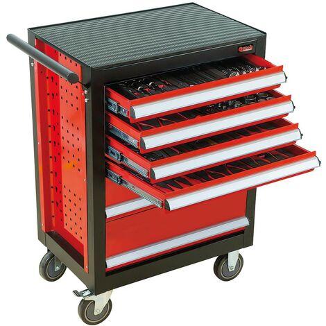 SERVANTE BASELINER 6 TIROIRS 141 PCS THERMO - GAMME RANGEMENT ET COMPOSITIONS - OUTIL PROFESSIONNEL - MOB