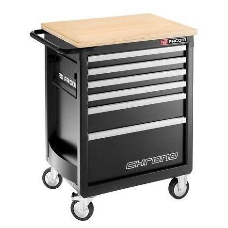 Servante CHRONO composé de 6 tiroirs de 3 modules par tiroir - Charges lourdes et sécurité 1211.73