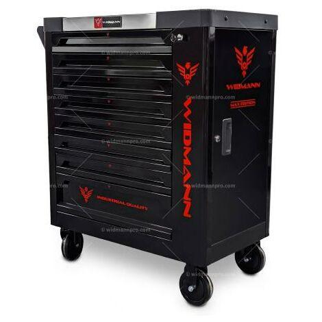 Servante d'atelier 5 tiroirs avec serrure centralisée Holzinger