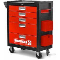 Servante d'atelier 5 tiroirs Movitools + accessoires
