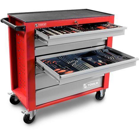servante d atelier compl 232 te large 441 outils professionnelle mw tools mwt441g2
