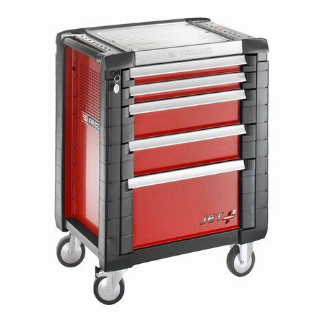 Servante d'atelier JETM3 Rouge FACOM 5 tiroirs - JET.5M3PF