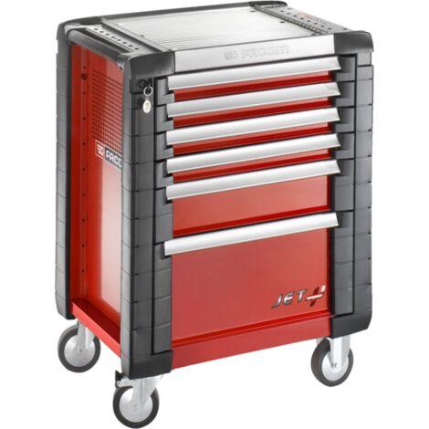 Servante d'atelier JETM3 Rouge FACOM 6 tiroirs - JET.6M3PF