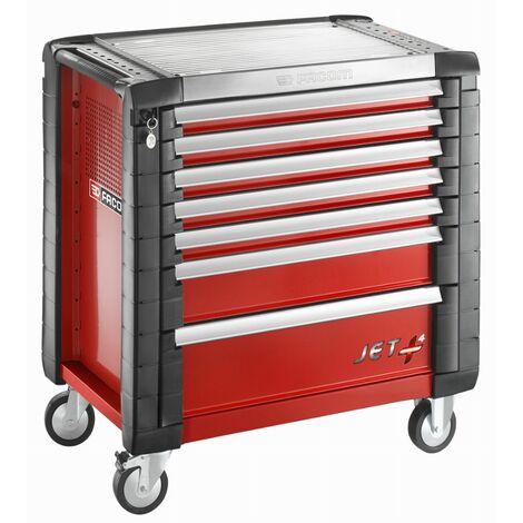 Servante d'atelier JETM4 Rouge FACOM 7 tiroirs - JET.7M4PF