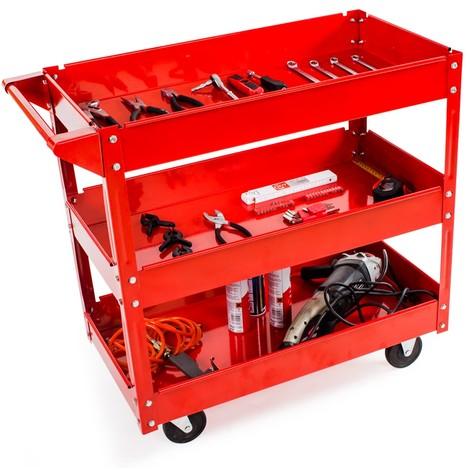3 étages chariot Atelier Chariot étages Chariot à outils outil armoire Chariot