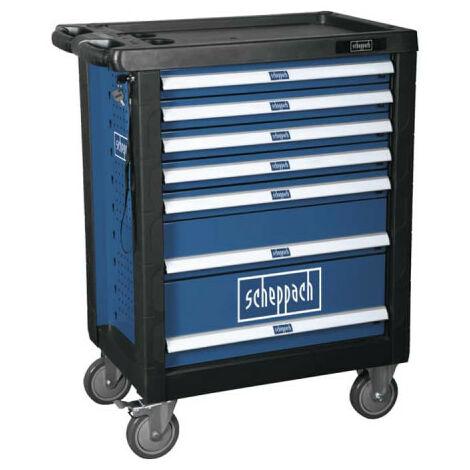 Servante d'atelier SCHEPPACH - 7 grand tiroirs - 77,5x47x97,5cm - TW1100