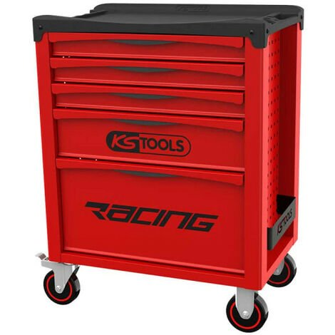 Servante KS TOOLS Racing - Rouge - 5 tiroirs - 855.0005