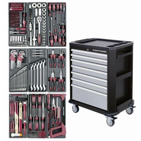 """main image of """"Servante P207 - 7 tiroirs + 286 Pièces KRAFTWERK Basic pour camion et atelier - 1097NG"""""""