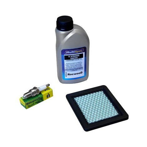 Service Kit Filter Spark Plug Engine Oil Compatible With Honda Izy Lawnmowers