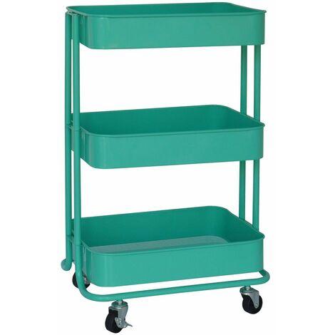Servierwagen Carrello | 3 Fächer | 6 Farben