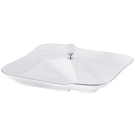 Serving Platter White ETAIN