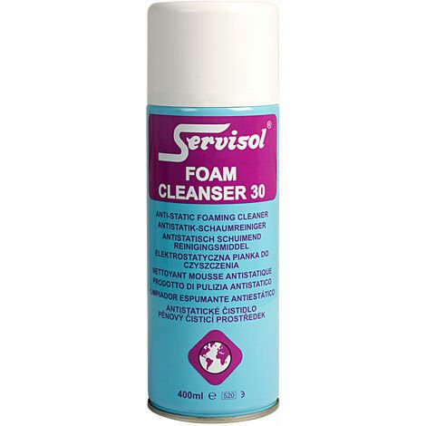 Servisol 6100002000 Foam Cleanser 30 400ml
