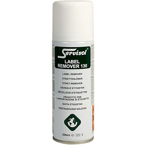 Servisol 6100016000 Label Remover 130 200ml