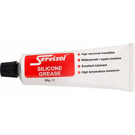 Servisol 6200002000 Silicone Grease 50g Tube