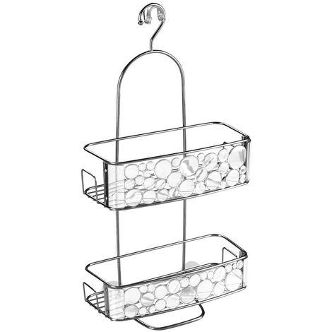 Serviteur de douche à suspendre plastique bubbli - IDesign - Interdesign