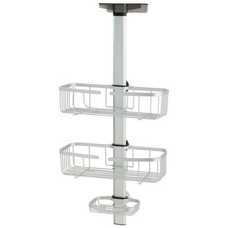 Serviteur de douche ajustable à suspendre aluminium metro - IDesign - Interdesign