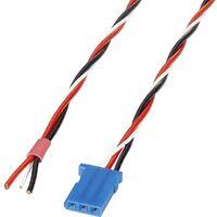 servo Câble de raccordement Deluxe [1x Futaba - 1x extrémité(s) ouverte(s)] 0.5 mm² torsadé Reely