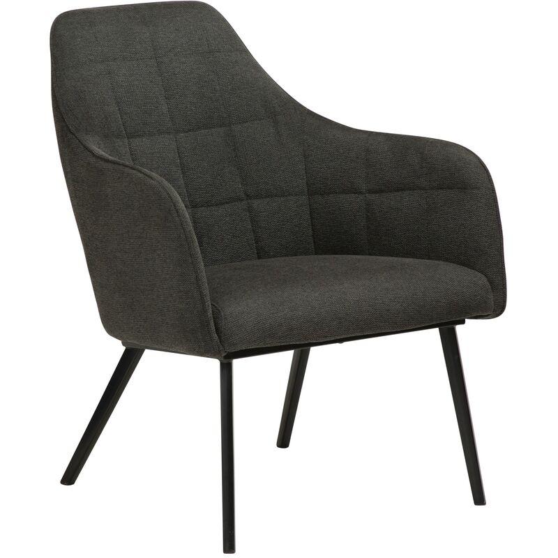Sessel Danform Embrace schwarz Polstersessel Loungesessel Clubsessel Coktailsessel 52-700801601 - PKLINE