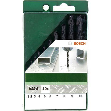 Set 10 forets metaux lamines hss-r pour Perceuse Bosch, Visseuse Bosch, Perforateur Bosch, Perceuse Divers, Perforateur Divers, Perceuse Skil, Perceus