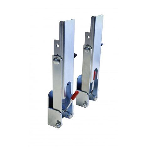 Set 2 accessoires de pose de bardage à recouvrement Clin Fix EDMA - 39855