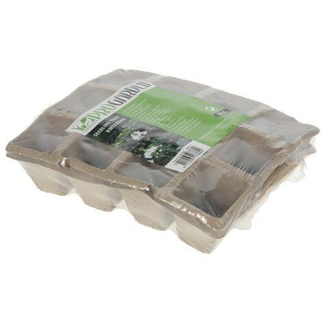 Set 2 bandejas semillero 21x17 cm
