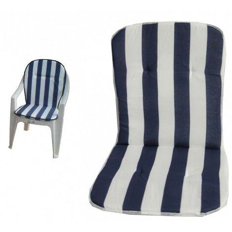 Sedute In Plastica Per Sedie.Set 2 Cuscini Per Sedia In Plastica Con Schienale Universale Copri Sedia Seduta