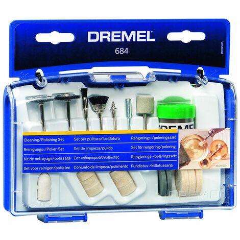Set 20 accesorios para limpiar y pulir Dremel