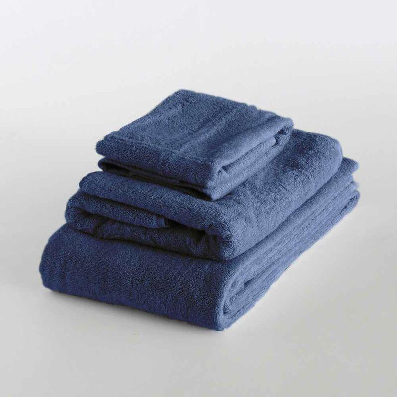 Set 3 Toallas Ti Amo Grande Mediano Pequeño | Azul Marino - Svad Dondi