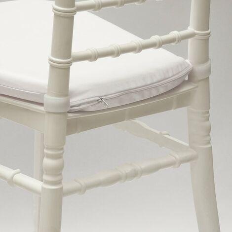 Set 4 Cuscino imbottito per sedia CHIAVARINA e NAPOLEON per esterno