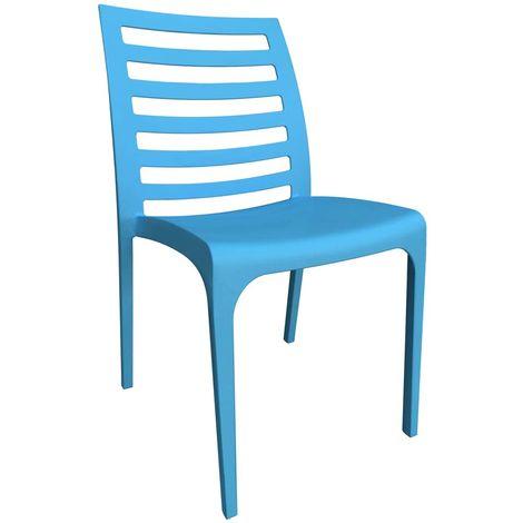 Sedie In Polipropilene Da Giardino.Set 4 Sedie Da Giardino In Polipropilene