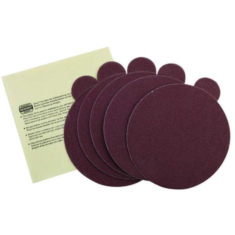 Set 5 discos adhesivos TG 125/E G80 - Diámetro 125 mm Proxxon