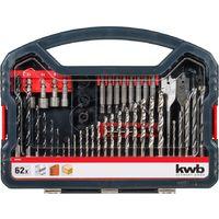 SET 62 PCS. PWRBOX BROCAS Y PUNTAS KWB