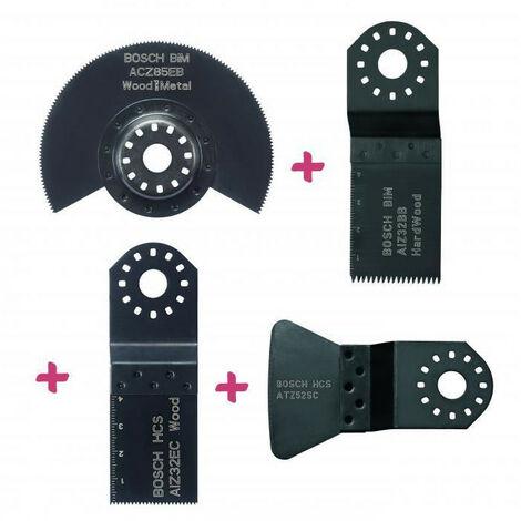 Set accessoires menuisier pour outil multifonction BOSCH