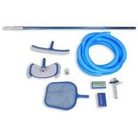 Set accessori di pulizia e manutenzione per piscina