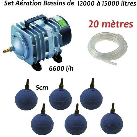 Set aération bassin de jardin de 12000 à 15000 l + aérateur