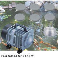 Set Aération Bassin De Jardin Et Étangs De 10000 à 12000 litres