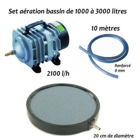 Set aération N5 bassin de jardin de 1000 à 3000 litres