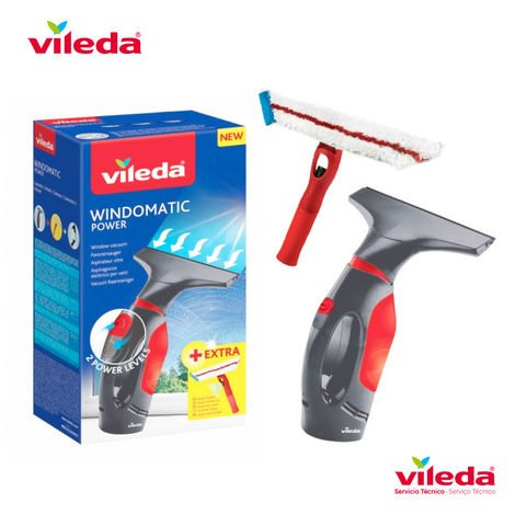 Set aspirador de ventanas windowmatic power 155723 Vileda