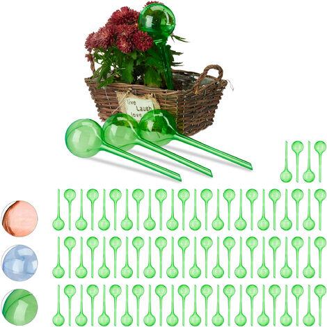 Set Autorriego para Macetas, Plástico, Verde, 80 Unidades
