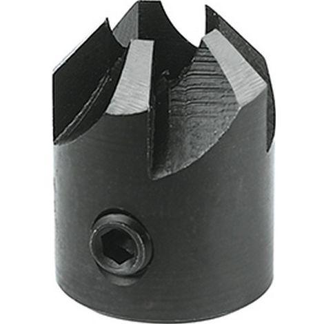 Set Avellanador para madera HSS, Ø del Broca Espiral : 8 mm, Ø de refrentado 20 mm, Ø 8 mm